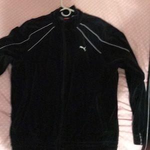 Men's puma velour sweatsuit